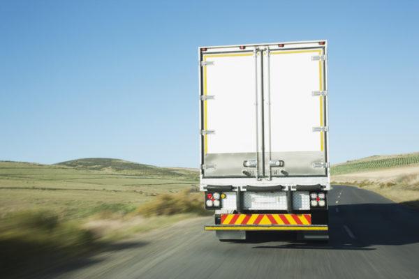 Semi-truck rear impact guard